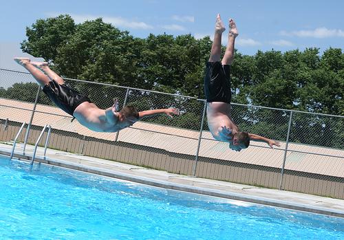 Pool fun:  Photo by Michele Grint