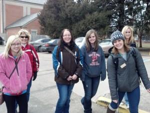 TM College tour with Kara