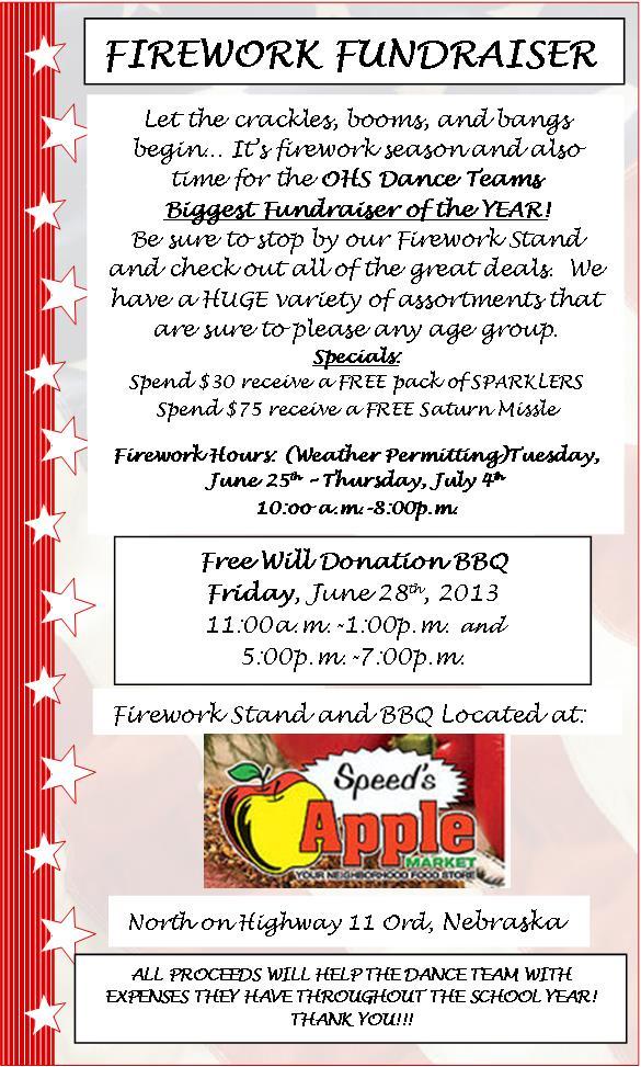 Firework Fundraiser
