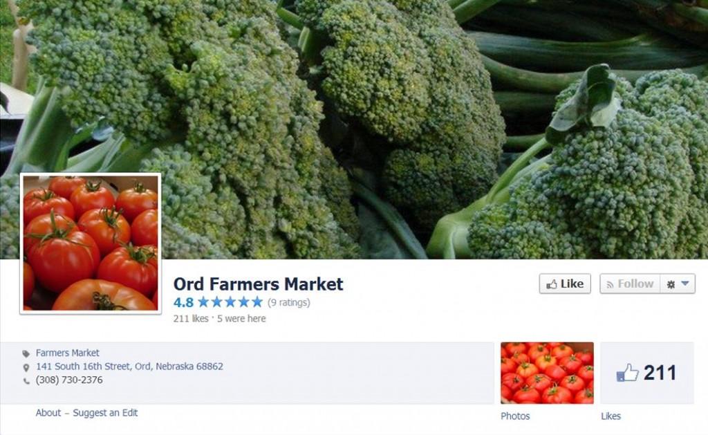 Farmer's Market for Facebook