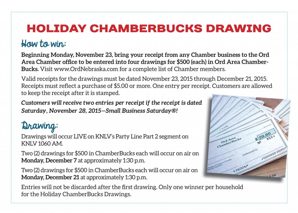 ChamberBucksDrawing_SmPromo.indd
